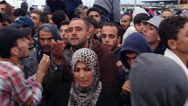 Австрия, беженцы, мигранты