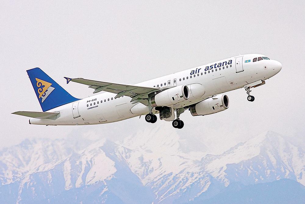 Air Astana, Казахстан, Грузия, рейсы, рейсы в Грузию