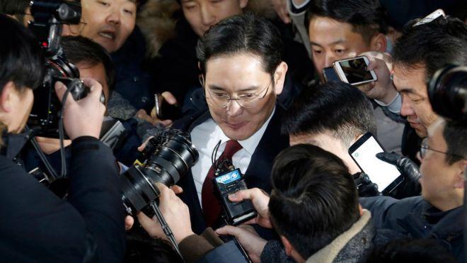Samsung, Ли Джэён, Южная Корея, прокуратура