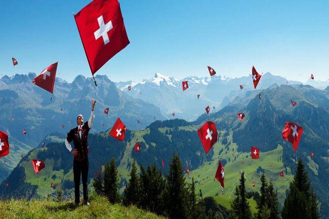 курдские объединения, демонстрация в Швейцарии