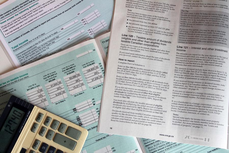 налог, налоговая сфера, Канада