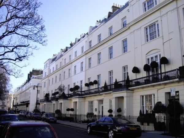 боро Лондона, цены на недвижимость, Кенсингтон и Челси