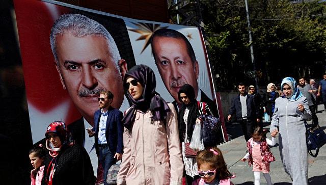 Турция, референдум