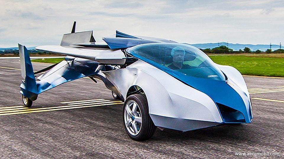 AeroMobil, летающий автомобиль
