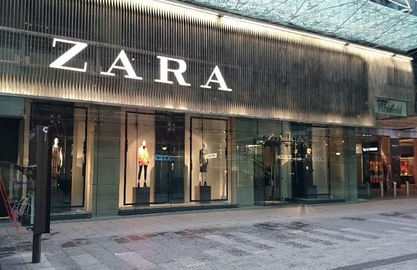 Россия, Zara