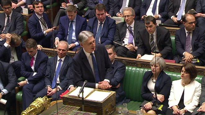 Филип Хэммонд, повышение налогов, Консервативная партия