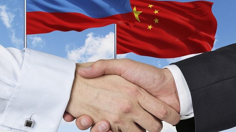 РФ, КНР, товарооборот