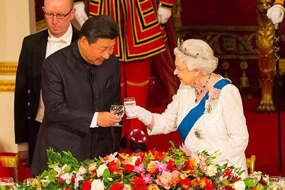 Великобритания, Китай