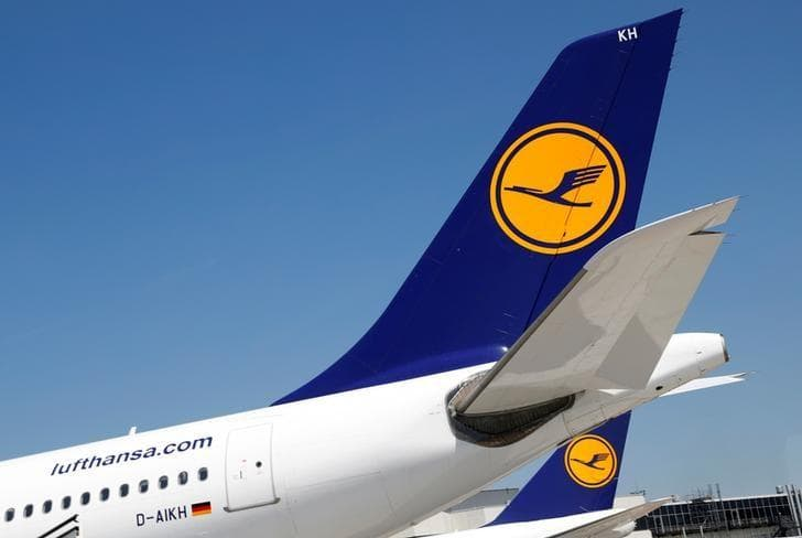 Lufthansa AG, Air France-KLM, акции выросли, авиаперевозчики