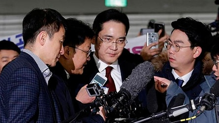 Компания Samsung, коррупционный скандал, Ли Чжэ Ён, фонды Чхве Сун Силь