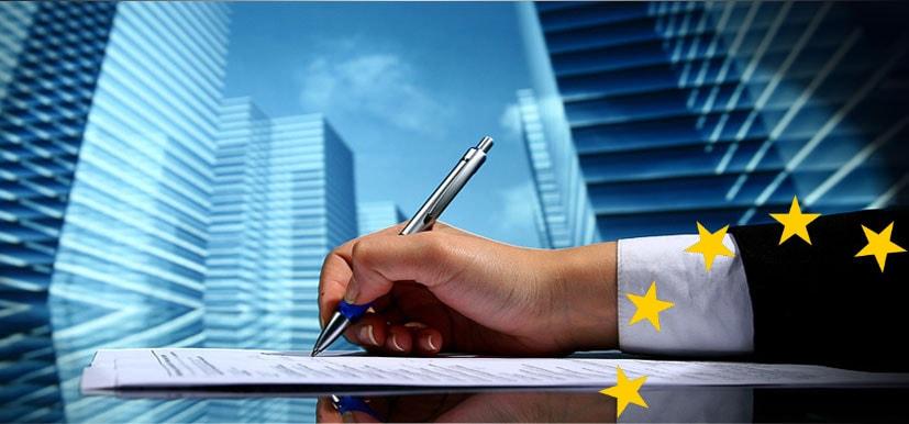 Европейский союз, товары и услуги, заключения соглашения