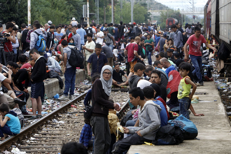 ЕС, Польша, беженцы