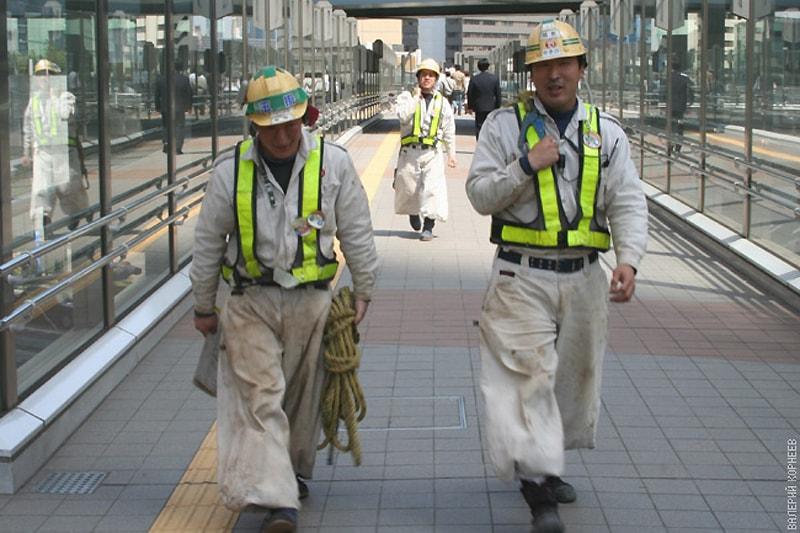 Япония, рабочая сила