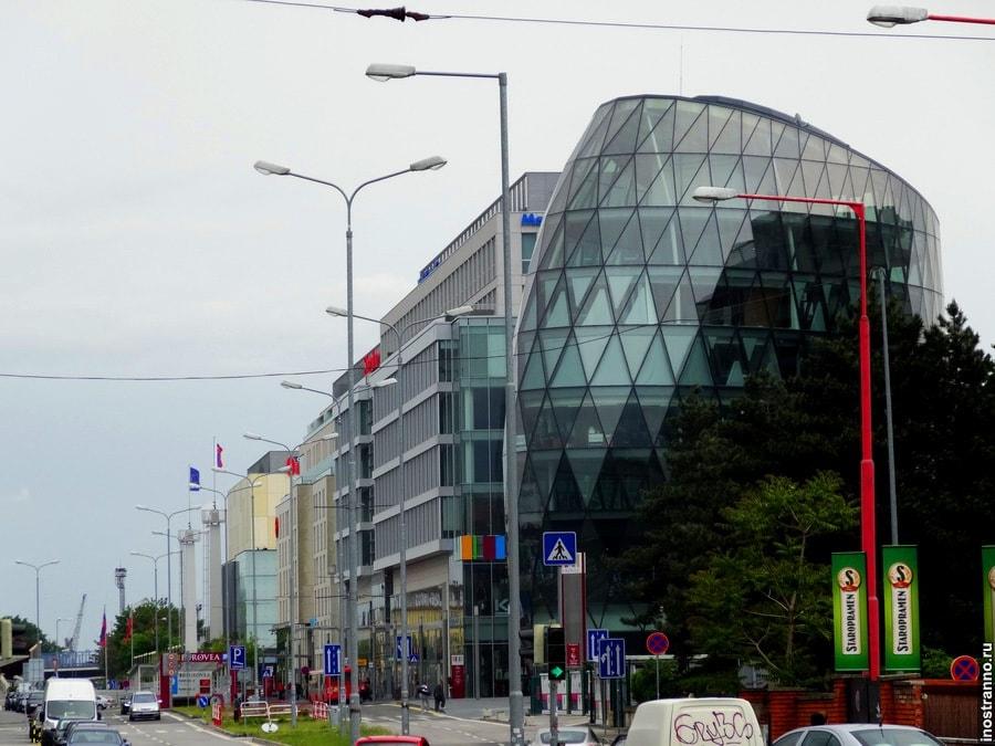 небоскреб, Eurovea 2, столица Словакии, Словакия, Братислава