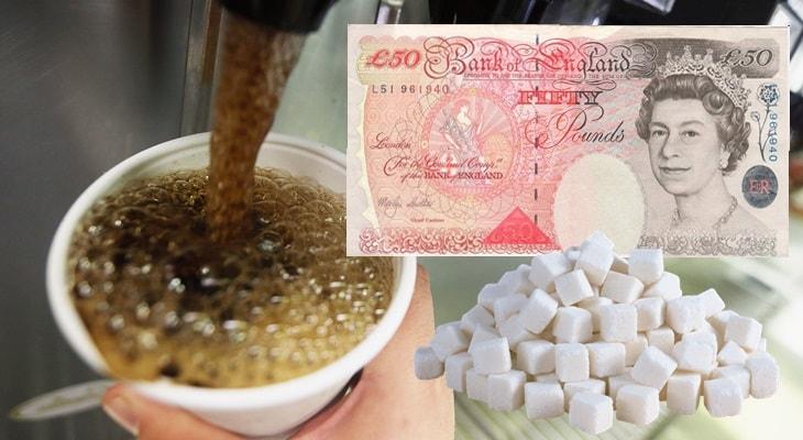 Великобритания, налог на сахар