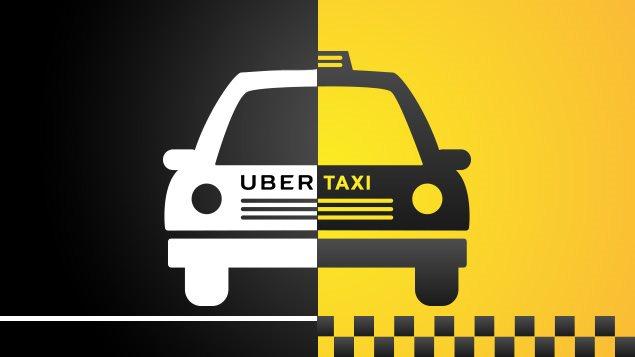 такси, Uber, Польша