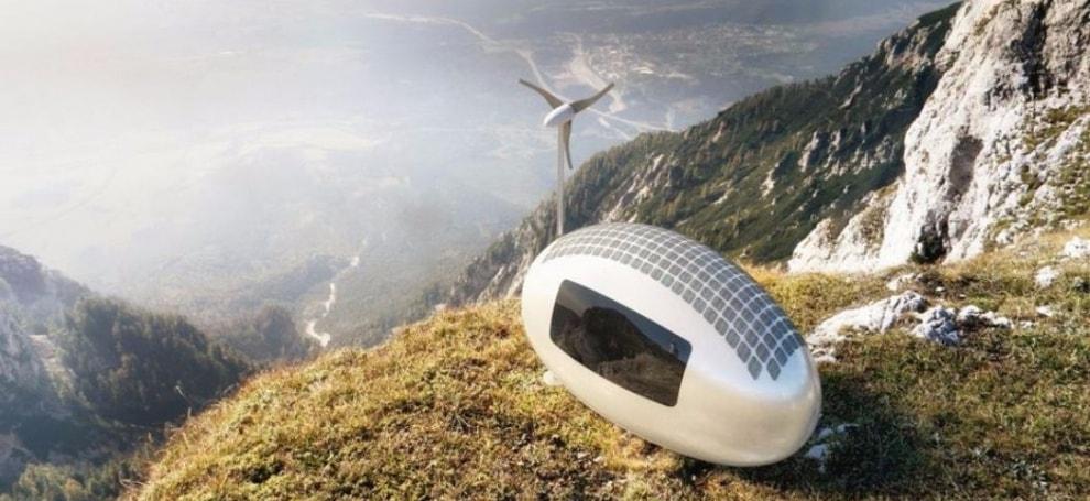дом будущего, капсула
