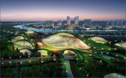 Китай, город, строительство