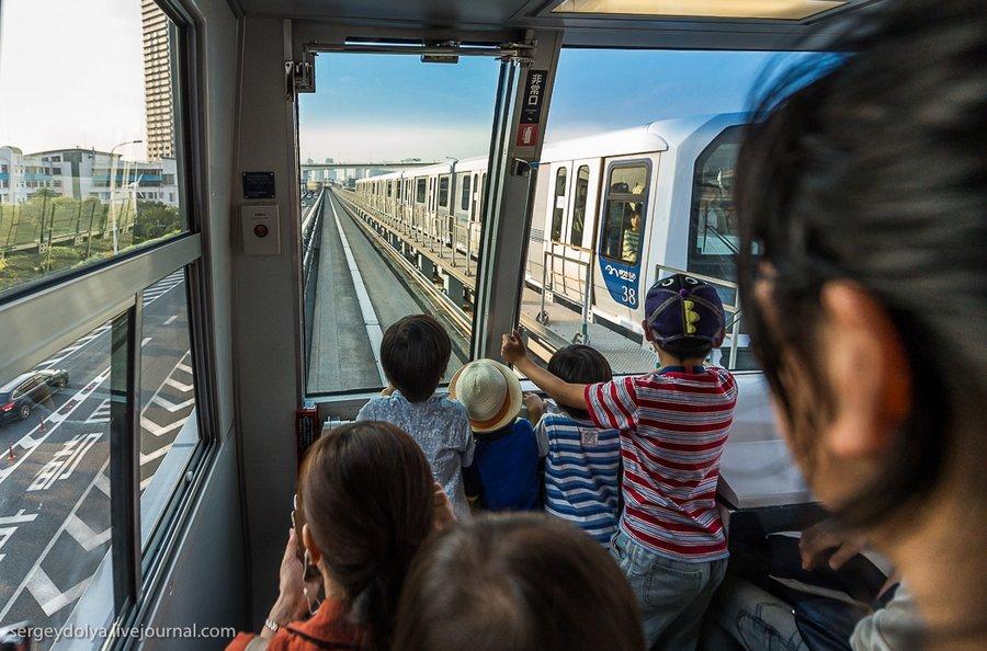 транспорт, час пик, Олимпийские игры, Токио