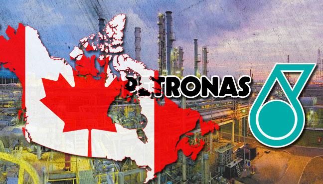 природный газ, СПГ-терминал, Petronas, Канада
