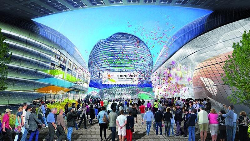 Польша, Astana Expo, Казахстан, павильон, выставка