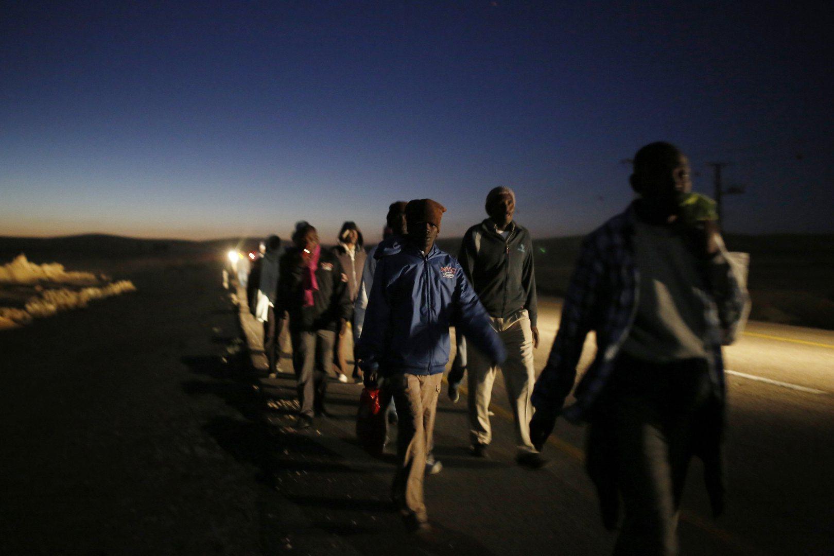 налог в Израиле, африканские мигранты