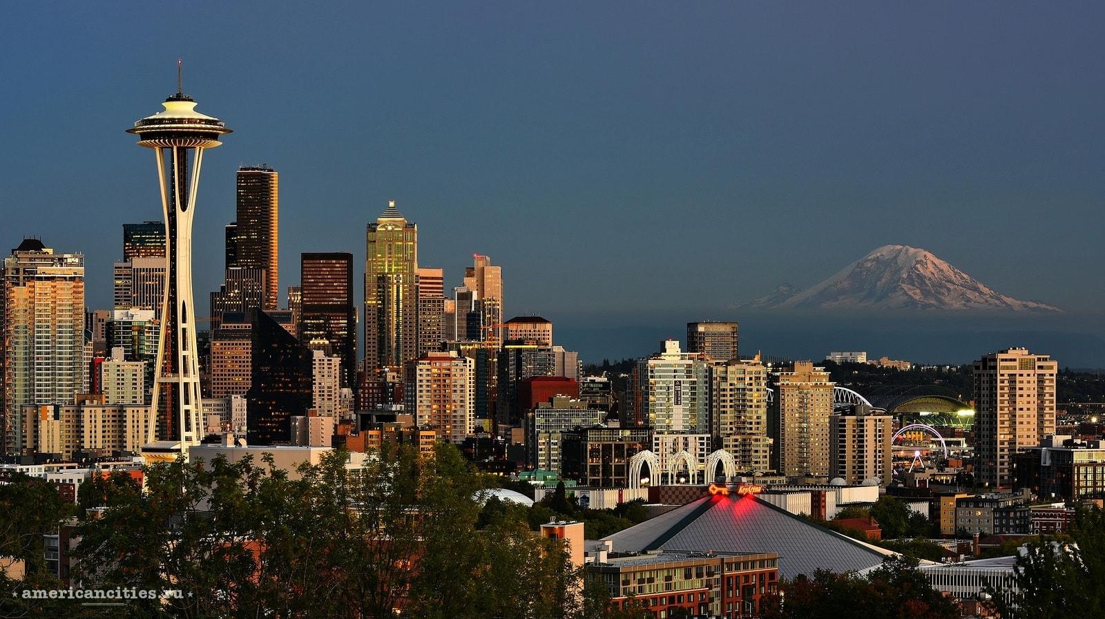 подоходный налог, богатых жители, Сиэтл