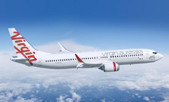 Virgin Airlines, Китай, Австралия, рейсы