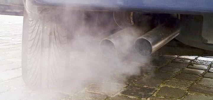 машина на дизеле, загрязнение воздуха