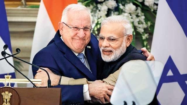 Индия, Израиль