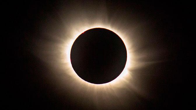 США, солнечное затмение