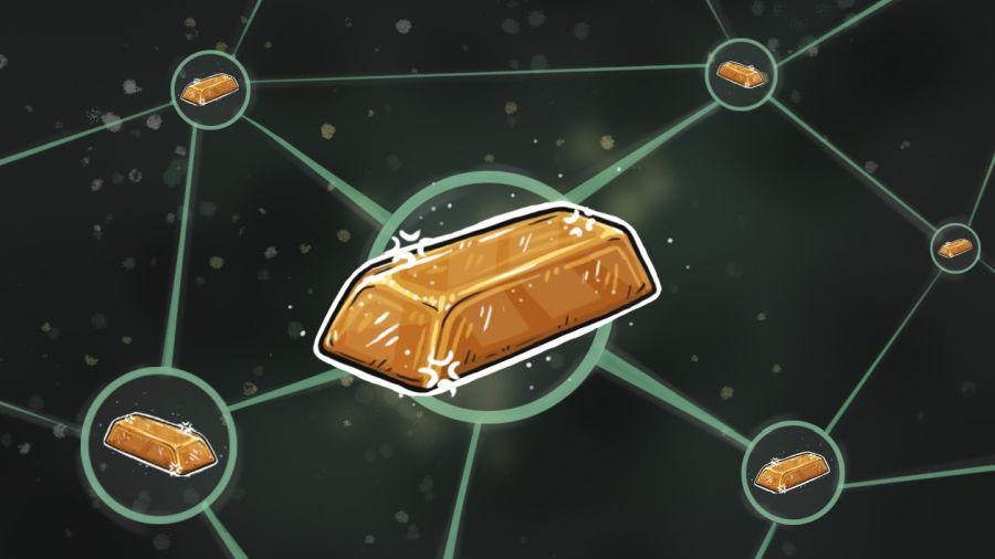 Блокчейн, торговля золотом