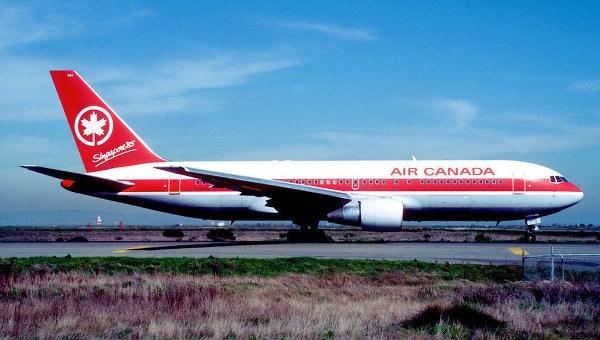 Канадские авиакомпании, Air Canada, пассажиропоток, чистая прибыль