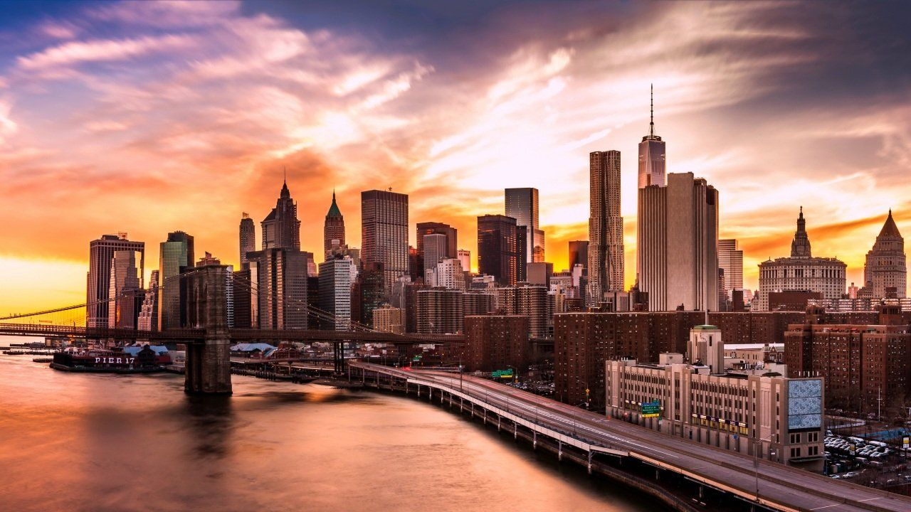технологический центр, Нью-Йорк, США