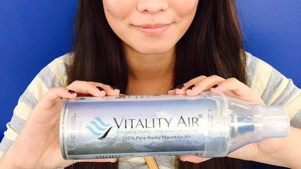 Китай, Vitality Air, кислородные баллоны