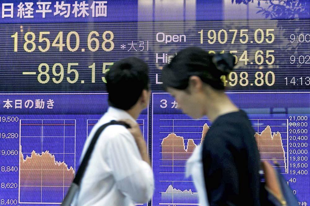 фондовый рынок, акции, фондовый индекс, фондовая биржа, Азия