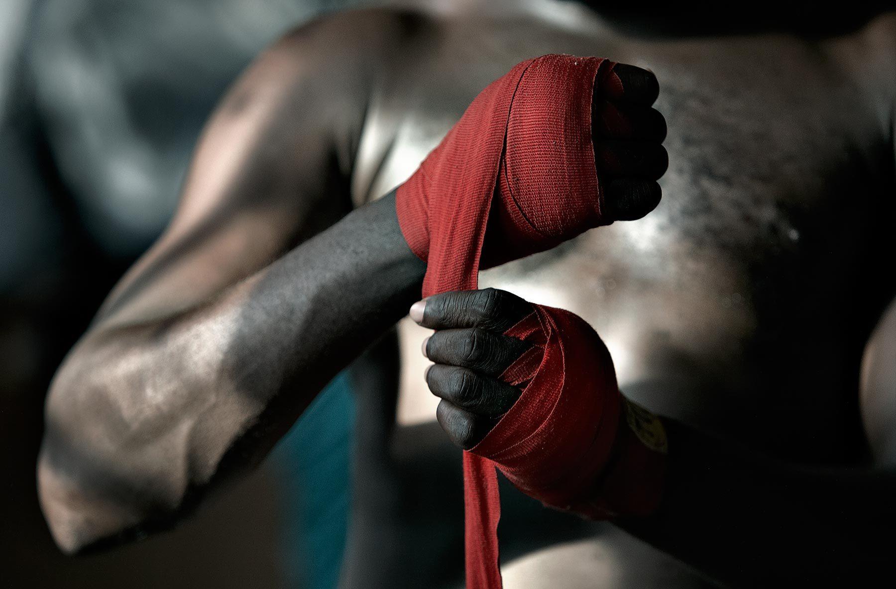 бокс в Латвии