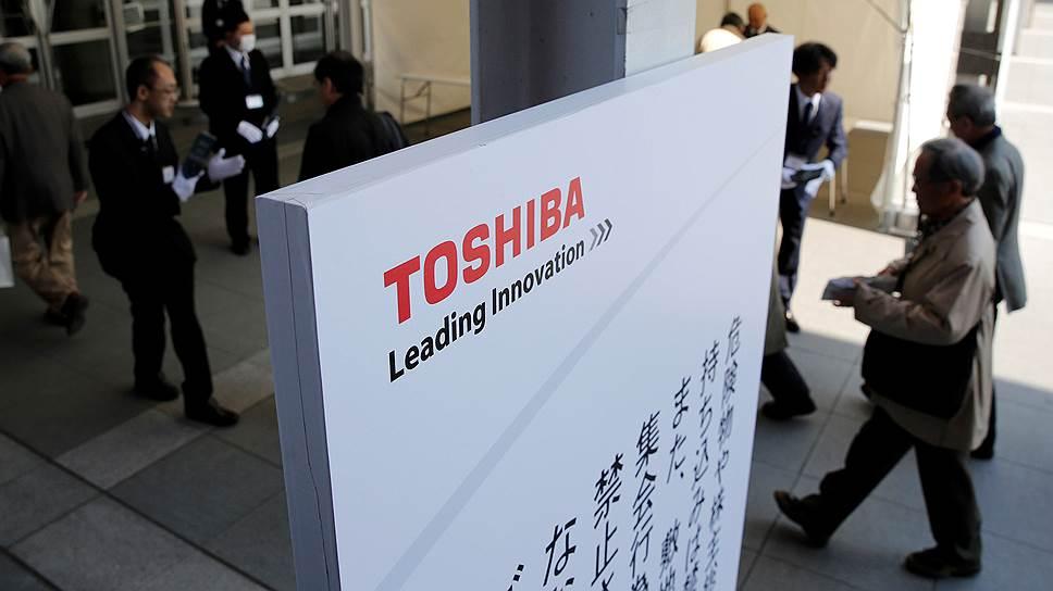 Toshiba, финансовые показатели