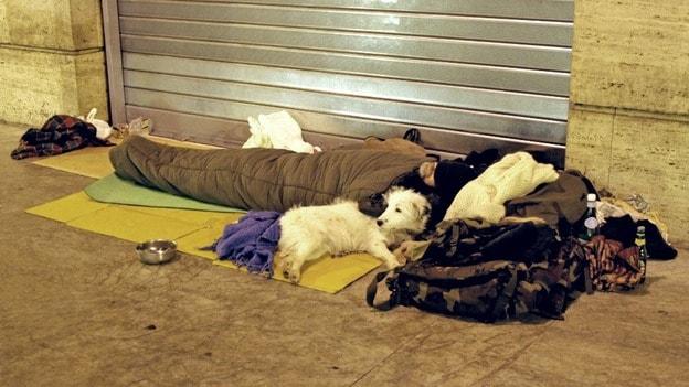 Уэльс, бездомные