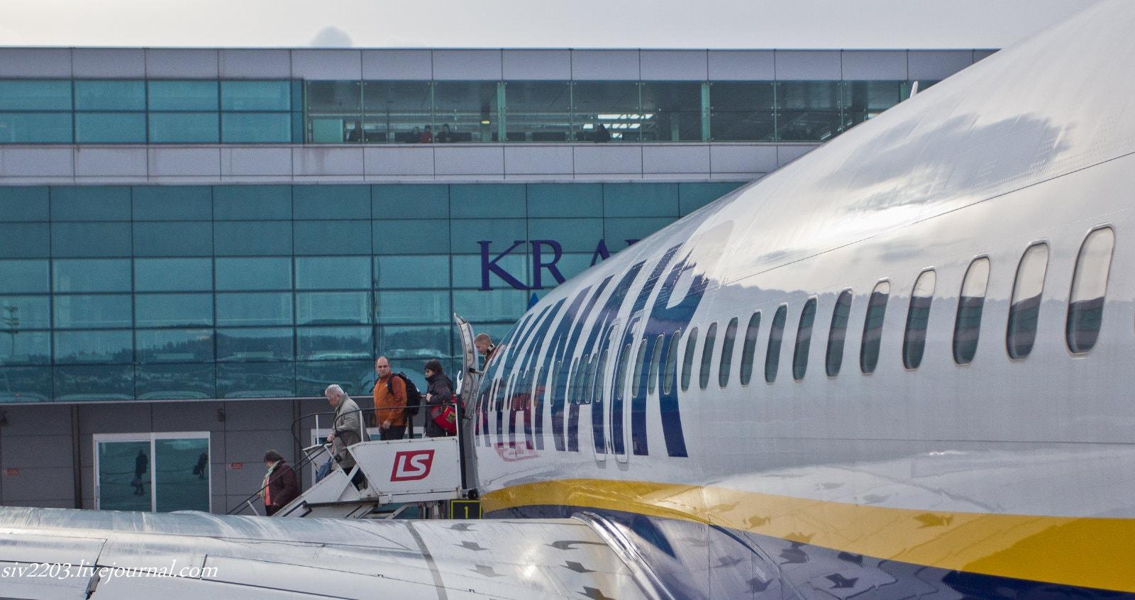 Ryanair, паспортный контроль