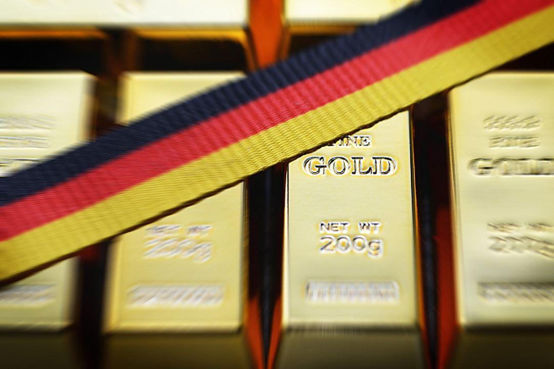 Германия, США, Франция, золотой запас