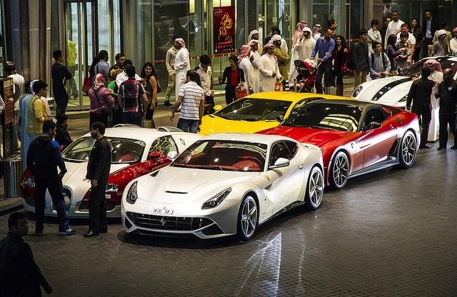 автомобили, НДС, ОАЭ