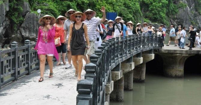 иностранные туристы, Вьетнам