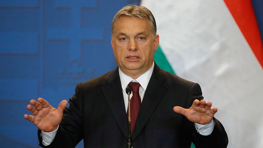 Ангела Меркель, Виктор Орбан, ЕС, Венгрия, беженцы