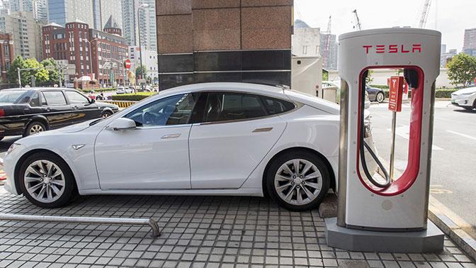 Tesla, завод в Китае