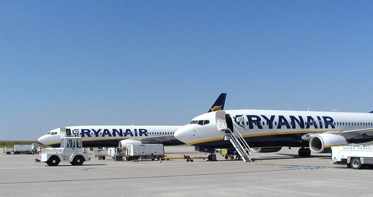 Ryanair, пилоты, отмена рейсов, авиакомпания
