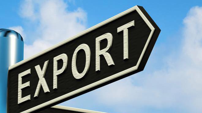 Азия, Украина, экспорт