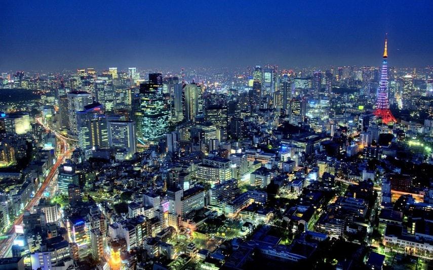 безопасный город, Токио