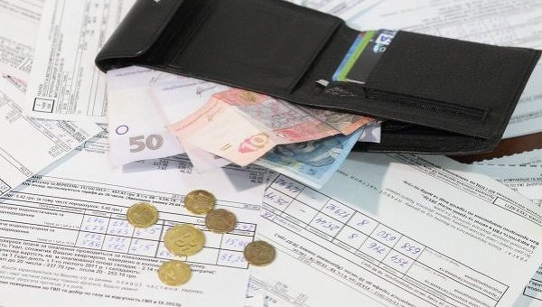 Украина, долги, коммунальные услуги