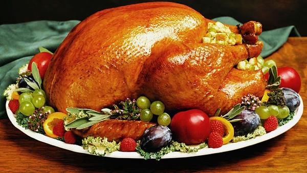 День благодарения, индейка, США